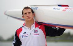 Ed McKeever - Team GB Canoe Sprint Training Session
