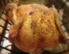 Simple Oven Roasted Chicken Recipe - Paleo/GAPS/Ketogenic