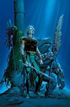 Post with 71 views. Aquaman: Tribes of Atlantis Aquaman Dc Comics, Arte Dc Comics, Marvel Comics, Batman, Superman, Dc Comic Books, Comic Art, Atlantis, Power Rangers