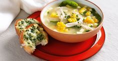 This easy chicken, corn and risoni soup is a nutritious and delicious everyday choice for kids.