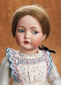 Remembering Mama: 126 Beautiful Large German Bisque Flirty-Eyed Kammer and Reinhardt Old Dolls, Antique Dolls, Vintage Dolls, Doll Toys, Baby Dolls, Porcelain Dolls For Sale, Fine Porcelain, Bear Doll, Doll Costume