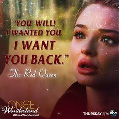 #OnceWonderland - Red Queen/Anastasia