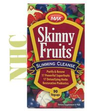 Skinny Fruits Slimming Cleanse, 90 Vcaps, Natural Max $13.99 from NaturalHealthyConcepts.com