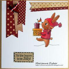 Marianne's Craftroom: Bringing presents