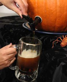 Pumpkin Party Projects: Pumpkin Keg