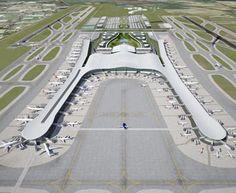 Rome Fiumicino Airport new terminal complex