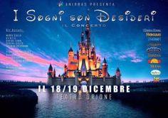 La Magia Disney 18 e 19 Dicembre Teatro Orione Palermo