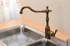 Menards Kitchen Sink Flooring Ideas For 285 Best Home Bath Fittings Images Bathroom Fixtures 578 50 古川古铜色厨房欧式水龙头全铜水槽仿古龙头新款银色单孔单把冷热 淘宝网