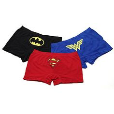 ThinkGeek :: Superheroine Seamless Boyshorts Definitely just bought myself a set. Dance Outfits, Girl Outfits, Comic Clothes, Geek Fashion, Geek Girls, Geek Chic, Bra Lingerie, Boy Shorts, Superhero Store