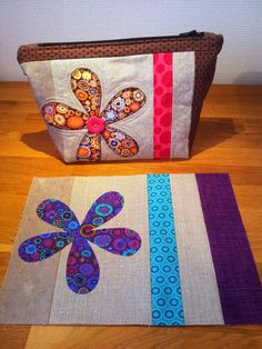 Cute quilted pouch tutorial! Just need google translate for the written instructions.