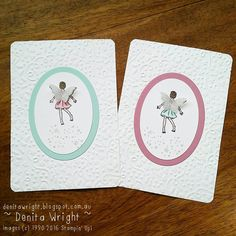 Denita Wright - Independent Stampin' Up! Demonstrator: 'Fairy Celebration' - Global Design Project #gdp043