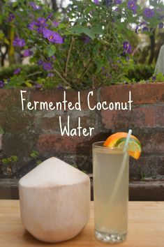 Coconut Water Kefir #fermentedfoods #coconutwater #coconut