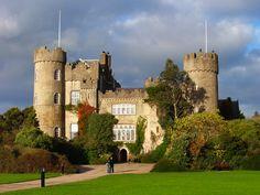 Malahide Castle, Ireland.