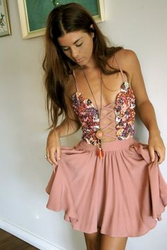 Girly girl dress, where would you be able to wear it?  A little riskay but I love it!