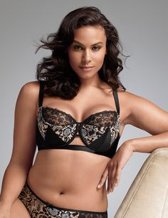 Floral French balconette bra by Sophie Theallet | Lane Bryant