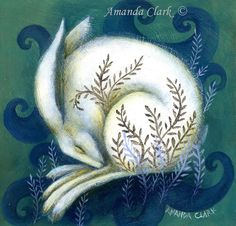 SALE!! Limited edition giclee art print by Amanda Clark. Hare paintings, miniature painting by earthangelsarts on Etsy