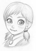 Do you want to build a snowman? by Lilicia-Onechan XD Awww!!!!! Little Anna!!! <3