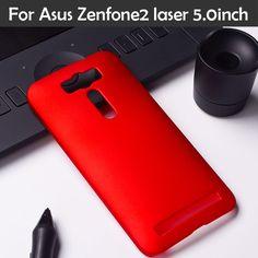 Matte Hard Back Case for Asus Zenfone2 Laser ZE500KL ASUS_Z00RD Zenfone 2 Laser ZE500KG 5.0 inch Slim Frosted Plastic Case Cover