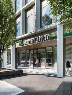 Ziegler+Partner Architekten AG - Hauptsitz Bank Linth LLB AG Uznach
