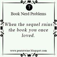 Book Nerd Problems