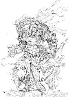 WARRIOR, u danja (genicool) on ArtStation at https://www.artstation.com/artwork/warrior-c13dffe7-cb1f-46b7-9148-8abebc067b2a