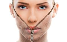 Everyone loves the results of a great facelift but rarely is anyone excited to go under the knife for the procedure. Read the latest and greatest treatments to lift, tone and tighten those problem facial areas. Non Surgical Facelift, Facial Therapy, Under The Knife, Facial Treatment, Arrow Necklace, Skin Care, Beauty, Curly Blonde, Curly Bob