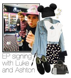 """""""✌EP signing with Luke and Ashton"""" by acc70913 ❤ liked on Polyvore featuring Trumpette, Gerbe, Vans, Michael Kors, Alexander Wang and Sharpie"""