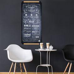 Manifeste de la famille fond chalkboard parfait pour votre salon !