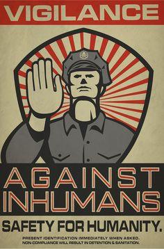 Agents of S.H.I.E.L.D. Framework AU posters. - 1 of 6.