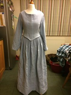 18 th century dress Cromford Mill