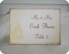 NEW  Personalized Rustic Vintage Christmas by LittlePaperFarmhouse, $37.50