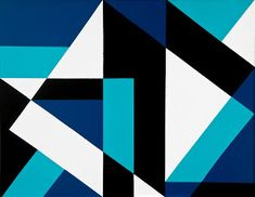 Lars Gunnar Nordström (Helsinki, is considered a pioneer of non-figurative art in Finland. From the looks of his work, I find it no s. Op Art, Abstract Art Images, Motif Vintage, Geometric Art, Figurative Art, Art Lessons, Design Art, Illustration Art, Canvas