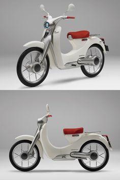 Honda EV Cub concept, 2009