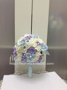 Baby Blue Bouquet by Fleur