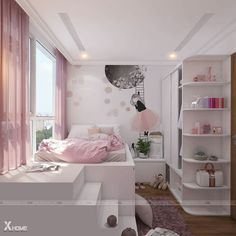 Luxurious Girls Bedroom Design, Furnishings And Concepts Creating your room design is one factor that may be each thrilling and draining. All individuals ha Girls Bedroom, Girl Bedroom Designs, Trendy Bedroom, Girl Room, Bedroom Decor, Bedroom Small, Bedroom Furniture, Small Girls Rooms, Unique Teen Bedrooms