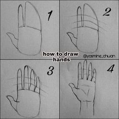 Drawing Techniques Drawing-Tutorial-for-Occasional-Artists - While there are tons of things out there to draw, it is not simple always. However, these Drawing Tutorial for Occasional Artists will help you out. Pencil Art Drawings, Art Drawings Sketches, Sketch Art, Cute Drawings, Anime Sketch, Charcoal Drawings, Easy Hand Drawings, Images Of Drawings, How To Draw Sketches