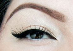 Perfect Winged Eyeliner Tutorial, via YouTube.