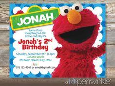 Elmo invitation