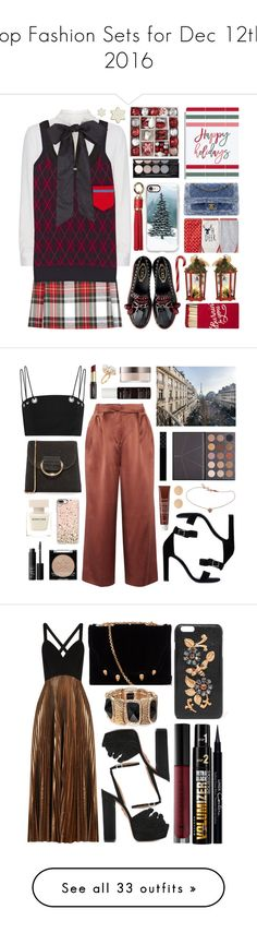"""Top Fashion Sets for Dec 12th, 2016"" by polyvore ❤ liked on Polyvore featuring New Look, Valentino, Miu Miu, North Pole Trading Co., Casetify, Dorothy Perkins, Witchery, Jacquie Aiche, TIBI and Little Liffner"