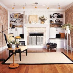 If your fireplace is in need of a facelift, get inspiration from these refreshes to transform your outdated piece into a beautiful focal point.