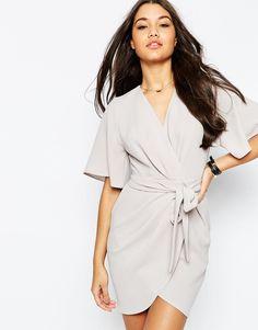 Graduation?ASOS Obi Belt Wrap Mini Dress