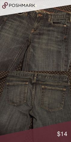 J. Crew matchstick jeans J. Crew matchstick jeans. Look like new. Dark blue denim with a classic straight leg. Size is not listed on a tag, i am pretty sure they are about a size 28 J. Crew Jeans Straight Leg