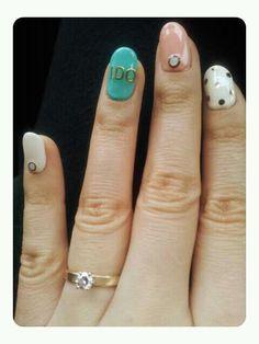 My wedding nail