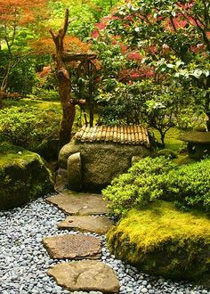 Japanese Gardens - Natural Landscaping Gardening and Landscape Design in the Catskills and Hudson Valley including Ulster County Ellenville New Paltz Kingston and Woodstock Japanese Garden Plants, Japanese Garden Landscape, Japan Garden, Japanese Garden Design, Japanese Gardens, Zen Gardens, Japanese Style, Natural Landscaping, Backyard Landscaping