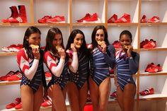Fierce Five gold medals