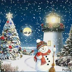 A magical seaside Christmas