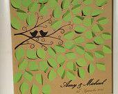 Wedding Guest Book / Signature Frame / Unique Gift / Memories / Keepsake / Engagement / Anniversry