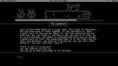 Plaisir ASCII art text adventure