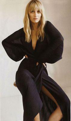 Model wearing black jumpsuit #model