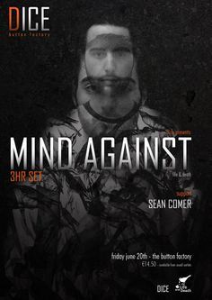 Mind Against Friday 20 June 2014 The Button Factory, Dublin